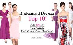 Ever-Pretty bridesmaid dresses top 10