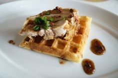 chicken and waffles @ le brunch 2011  http://eatahfood.blogspot.com/2011/12/whats-le-brunch.html