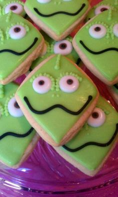 Tangled Party - Pascal Cookies!  The kids loved these!