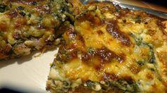 Δείτε περισσότερες συνταγές πατώντας ΕΔΩ Μαγειρική και Συνταγές ΥΛΙΚΑ 1 φύλλο ζύμη σφολιάτα 1 κρέμα γάλακτος το μεσαί... Different Recipes, Other Recipes, Cookbook Recipes, Cooking Recipes, Healthy Recipes, Cetogenic Diet, Fast Easy Meals, Spinach Recipes, Pizza