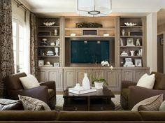 Основы организации общей семейной комнаты (гостиной)