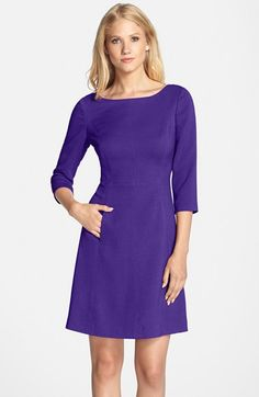 Vince+Camuto+Crepe+A-Line+Dress+(Regular+&+Petite)+available+at+#Nordstrom
