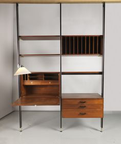 """Wall Unit, """"Comprehensive Storage System (CSS)"""", ca. 1960"""
