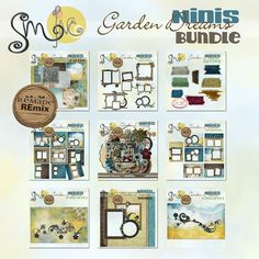 Monday: January 14-  Ninis Garden Dreams Bundle by SweetMade