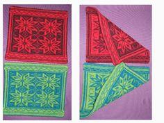 I desember 2012 strikket jeg sitteunderlag i dobbeltstrikk.  Mønsteret tegnet jeg selv, og her kan du se resultatet.  Ikke lenge etterpå ... Knitting Yarn, Alexander Mcqueen Scarf