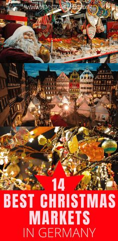 Looking for the best German Christmas Markets? Here are 14 lesser-known but wonderful markets that you should check out during December in Germany! Christmas Markets Germany, German Christmas Markets, Christmas Markets Europe, Holiday Market, Christmas Travel, Christmas Holidays, Christmas Ideas, Christmas Destinations, Winter Destinations