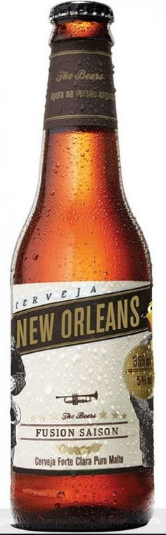 Cerveja The Beers New Orleans, estilo India Pale Ale (IPA), produzida por Gaudenbier Cervejaria, Brasil. 4.8% ABV de álcool.
