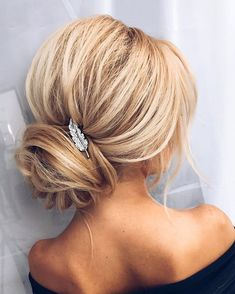 A wrapped low bun and a small bridesmaid hair updo, chic hairstyles, formal Romantic Hairstyles, Chic Hairstyles, Best Wedding Hairstyles, Bridal Hairstyles, Black Hairstyles, Hairstyle Ideas, Simple Hairstyles, Bridal Updo, Formal Hairstyles