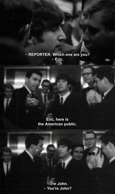 When John had a little fun with a reporter who hadn't done his homework. | 17 Times The Beatles Were Actually Hilarious