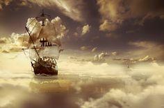 Trilhas de Luz: Navios de Nuvens
