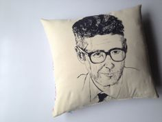 Ira Glass Pillow