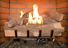 What many people do not realize is that a gas log fireplace has more advantages over a wood-burning fireplace and can seem just as real with added features. #gasfireplacelogs #fireplace #fireplaceideas #gasfireplace Ventless Gas Logs, Vented Gas Fireplace, Wood Burning Fireplace Inserts, Gas Fireplace Logs, Gas Fireplaces, Fireplace Glass, Fireplace Ideas, Best Electric Fireplace, Patio Store