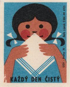 czechoslovakian matchbox label | Via Maraid