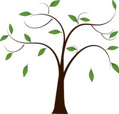family tree genealoy and backgrounds clipart family history rh pinterest com free tree branch clip art black and white