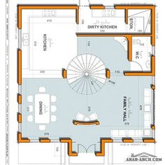 تصاميم فيلا 100 متر مربع للمصمم عمار ناصر Arab Arch House Construction Plan My House Plans New House Plans
