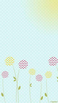 Soft Flowers iPhone Wallpaper