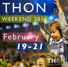 #THON Weekend 2016 is February 19 - 21 2016 at the BJC