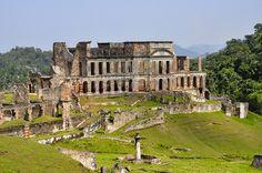 Palais San Souci, Milot, Haiti. This is where I want to shoot my engagement pics