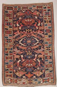 Caucasian Bijov Rug - 19th Century