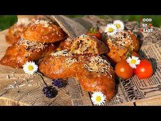 Slané rohlíčky plněné směsí z kyselého zelí Low Carb - YouTube Tandoori Chicken, Mozzarella, Low Carb, Ethnic Recipes, Food, Youtube, Essen, Meals, Yemek