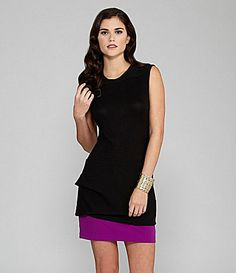 Gianni Bini Wake Peplum Dress | Dillards.com