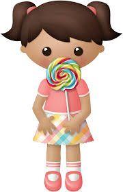 Resultado de imagen para niña comiendo animado
