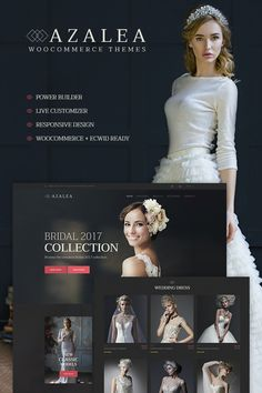 Azalea - Wedding Store WooCommerce Theme #66120