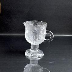 Danish Modern, Mid-century Modern, Wood Bird, Modern Glass, Pressed Glass, Milk Jug, V60 Coffee, Finland, Cast Iron