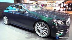 2018 Mercedes Benz E Class E 300 Coupe - Exterior Interior Walkaround - ...