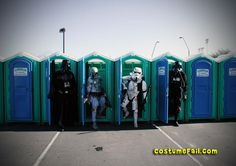 Potty #ExpediaWanderlust.  Porta-Potties in Space