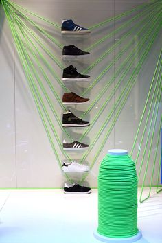 | Window Display | Visual Merchandising | Sneakers | Trainers | Shoes