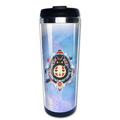 Tqlah Totoro Tumbler Travel Mug >>> Continue to the product at the image link.