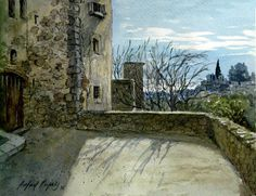 Rafael Pujals art, San Jerolni Murtra