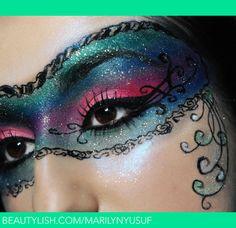 Masquerade Eyeshadow Makeup