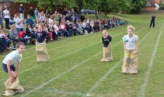 King's Ely Acremont sports day- Sack race