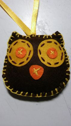 Felt owl made by me :)