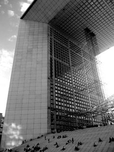 Le Grande Arche, La Defense, paris