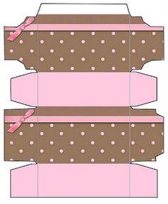 Marrom e Rosa – Kit Completo com molduras para convites, rótulos para guloseimas, lembrancinhas e fundos!  Fazendo a Nossa Festa