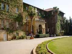 American University of Beirut Campus, one of a kind...seeped in both history and heritage