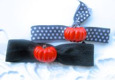 A personal favorite from my Etsy shop https://www.etsy.com/listing/249680451/halloween-hair-ties-halloween-hair