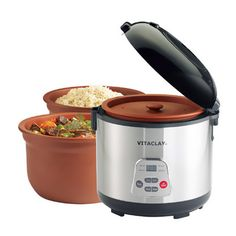 Found it at Wayfair - 2-in-1 Rice N' Slow Cooker in Stainless Steel I hear this is way better than a standard rice cooker.