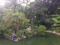 Beautiful park in Monacco
