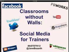 Social Media for Trainers -- Jane Bozarth presentation learningtechnologies 2011