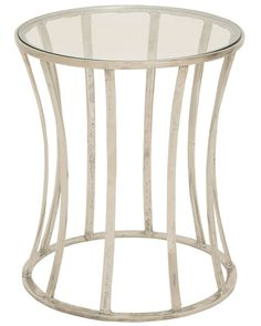 Spotted this Glass Accent Table on Rue La La. Shop (quickly!).