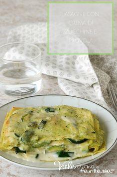 Ravioli, Crepes, I Love Food, Good Food, Pasta Recipes, Cooking Recipes, Veggie Noodles, Zucchini, Italian Pasta