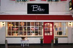 Bleu, Hilversum Terrace Restaurant, Netherlands, Holland, Garage Doors, Outdoor Decor, Home Decor, Blue, Homemade Home Decor, Decoration Home