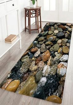 Sea Stone Pattern Indoor Outdoor Area Rug Home Decor CatalogsHome OnlineDecorations