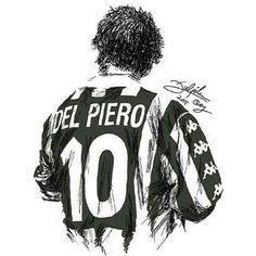 The Stalwart - Alessandro Del Piero Football Drills, Best Football Players, Sports Basketball, Sports Art, Soccer Players, Football Soccer, Juventus Soccer, Juventus Players, Juventus Fc