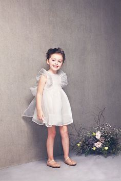 Mae Dress by NellyStella in White – The Girls @ Los Altos