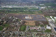 Start Your Engines: #Solar Power Hits the Speedway @Reworld #solarenergy